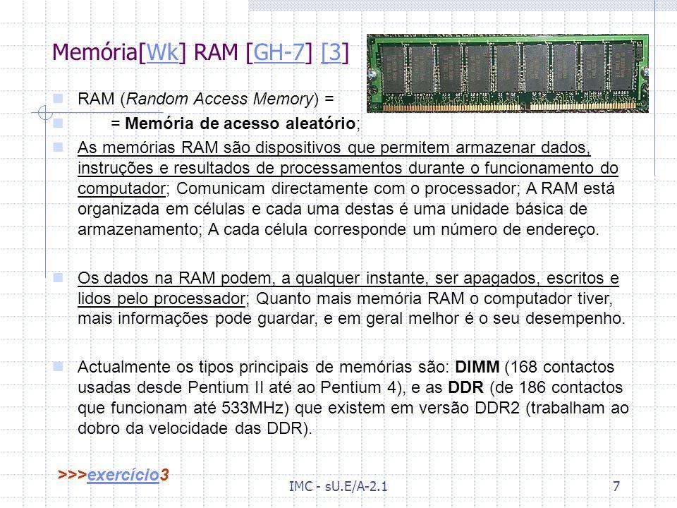 Memória[Wk] RAM [GH-7] [3]